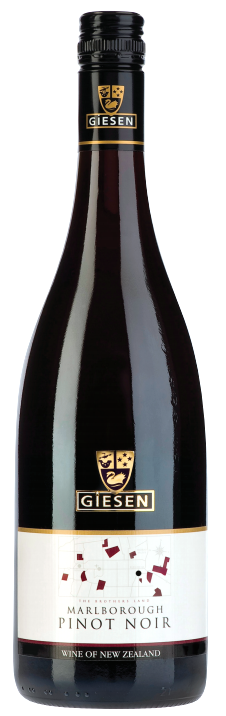 Giesen Pinot Noir 2016 (6 x 750mL) Marlborough. NZ