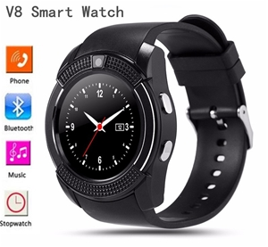 V8 Bluetooth Smart Watch Phone Mate Touc