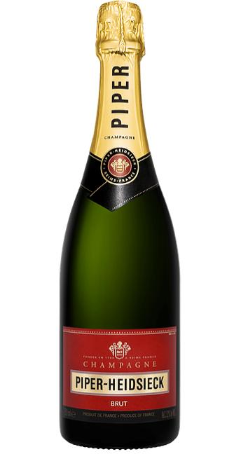 Piper Heidsieck Brut Champagne NV (6 x 750mL), France