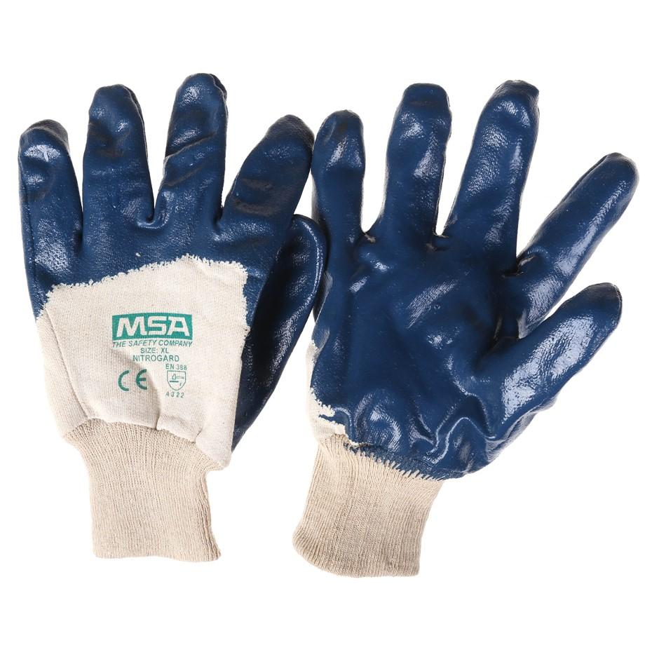 24 Pairs x MSA Nitrogard Palm Coat Knit Wrist Work Gloves, Size XL. Buyers