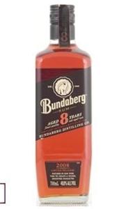 Bundaberg 8yr Old 2008 Rum (1 x 700mL) A