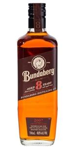 Bundaberg 8yr Old 2007 Rum (1 x 700mL) A