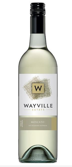 Wayville Estate Moscato 2016 (12 x 750mL), SE AUS.