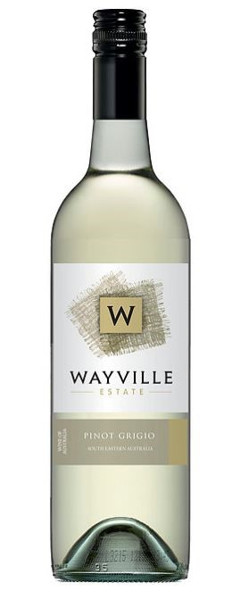 Wayville Estate Pinot Grigio 2016 (12 x 750mL), SE AUS.