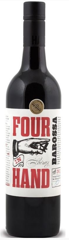 Four In Hand Shiraz 2016 (6 x 750mL), Barossa Valley, SA