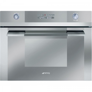 Smeg 34l Stainless Steel Compact Microwa Microwave Convection Oven