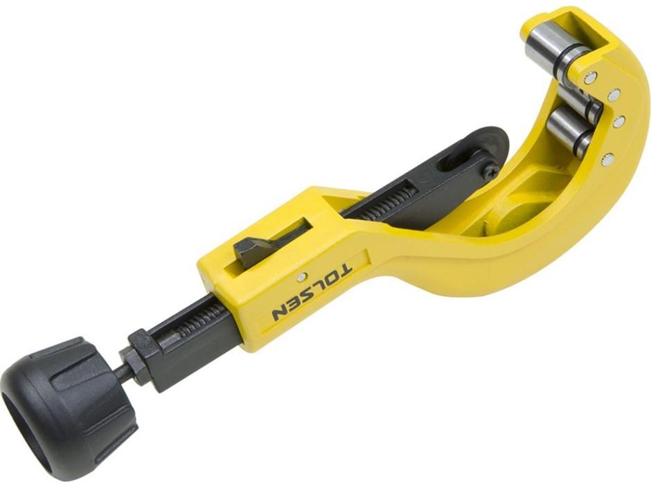 TOLSEN Heavy Duty Pipe Cutter 6-64mm, Aluminium Alloy Body. Buyers Note - D