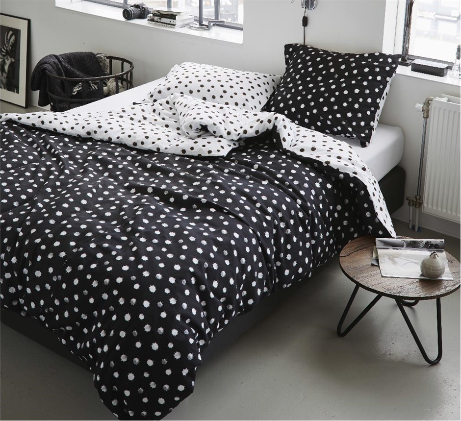 Printed Quilt Cover Set Inka - KING