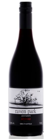 Raven Park Victorian Shiraz 2017 (12 x 750mL). Screwcap Closure.