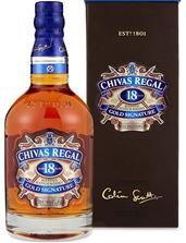Chivas Regal `18YO` Gold Signature Scotch Whisky (6 x 500mL Giftboxed).