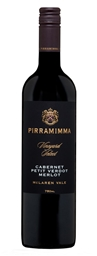 Pirramimma Vineyard Select Cabernet Petit Verdot Merlot 2016 (6 x 750mL) SA