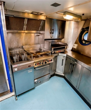 VIEW OF THE GALLEY