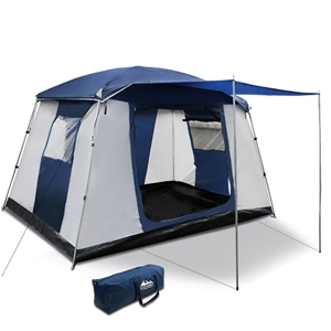 Weisshorn 6 Person Dome Camping Tent - N