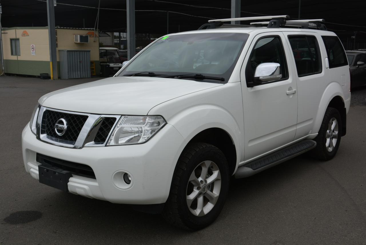 2012 Nissan Pathfinder ST-L (4x4) R51 Manual 7 Seats Wagon