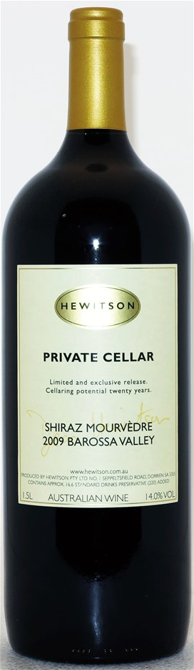 Hewitson `Private Cellar` Shiraz Mouvedre 2009 (1 x 1.5L Magnum) Barossa.