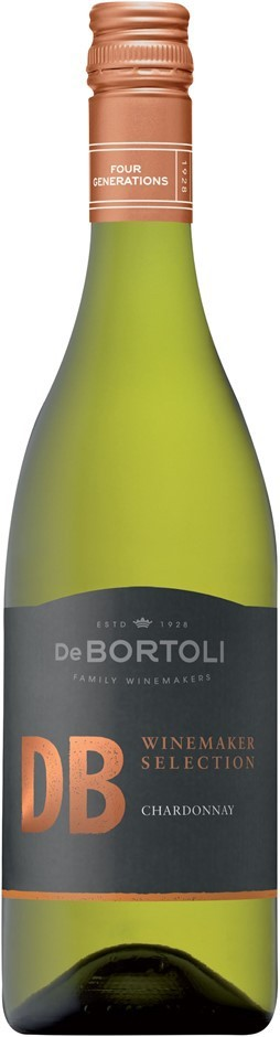 De Bortoli DB Winemaker Selection Chardonnay 2017 (6 x 750mL), NSW