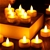 60 X LED Flameless Tealight Candles Wedding Decoration Battery Inc. 3000K