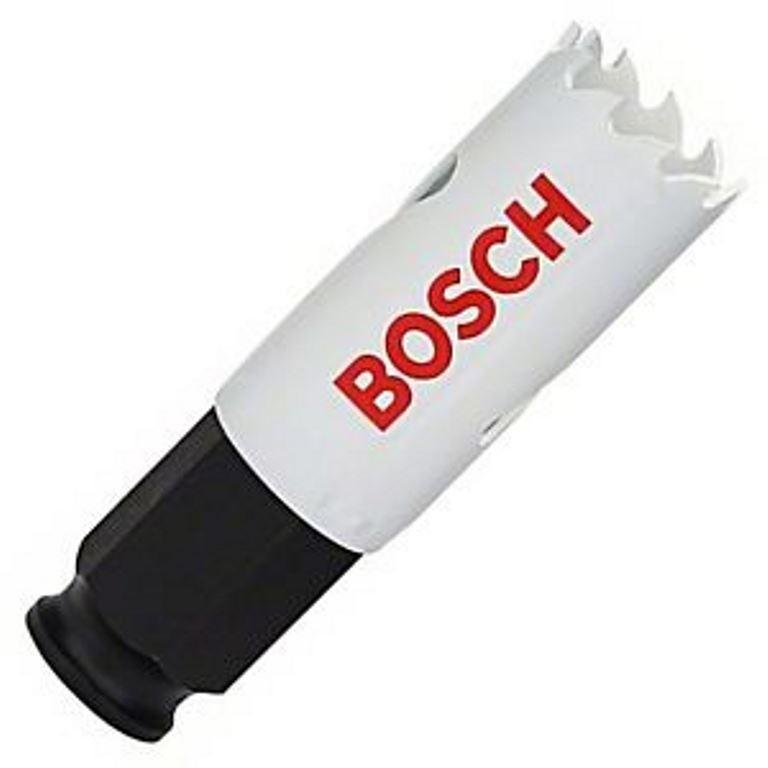 4 x BOSCH 22mm Bimetal Power Change Hole Saws. Buyers Note - Discount Freig