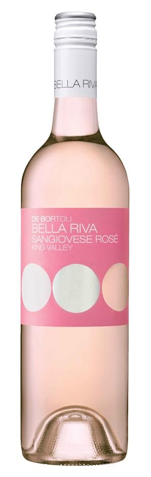 De Bortoli `Bella Riva` Sangiovese Rose 2019 (6 x 750mL), King Valley, VIC.