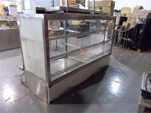 2 x comercial refriderators in one lot features stainles auction