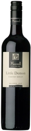 Maxwell `Little Demon` Cabernet Merlot 2016 (12 x 750mL), McLaren Vale, SA.