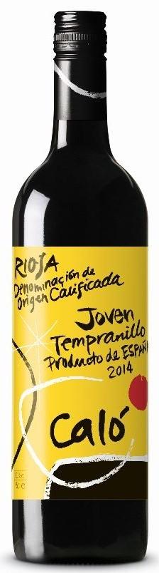 Calo Tempranillo Rioja 2017 (12 x 750mL), Spain