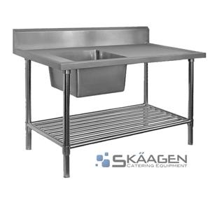 Unused 1500 x 600mm Stainless Steel Sink