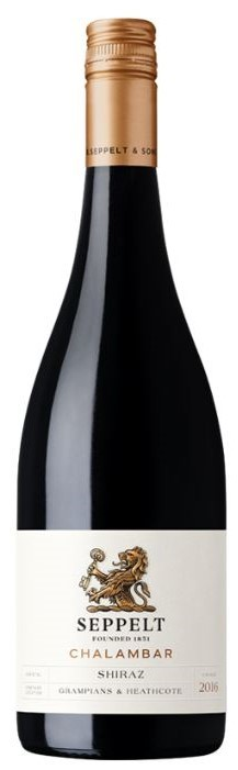 Seppelt `Chalambar` Shiraz 2016 (6 x 750mL), VIC.