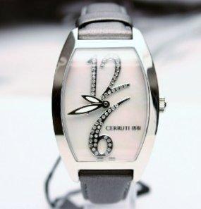 888216687d Genuine diamond Cerruti 1881 Grande Classico ladies watch. Auction ...