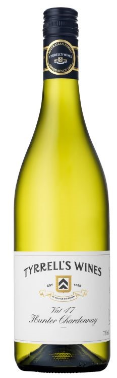 Tyrrell's `Vat 47` Chardonnay 2014 (6 x 750mL), Hunter Valley, NSW