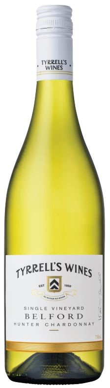 Tyrrell's Belford Single Vineyard Chardonnay 2016 (6 x 750mL) Hunter Valley