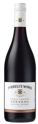 Tyrrell's `Stevens Single Vineyard` Shiraz 2016 (6 x 750mL) Hunter Valley