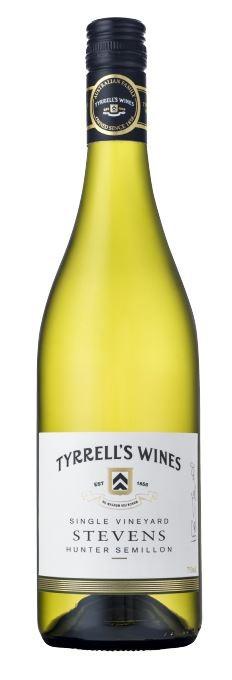 Tyrrell's `Stevens Single Vineyard` Semillon 2012 (6 x 750mL) Hunter Valley