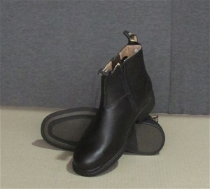 2a251582f82 Pair of Blundstone Zip Side Executive Black Size 8 Safety Boots. Code 783 (