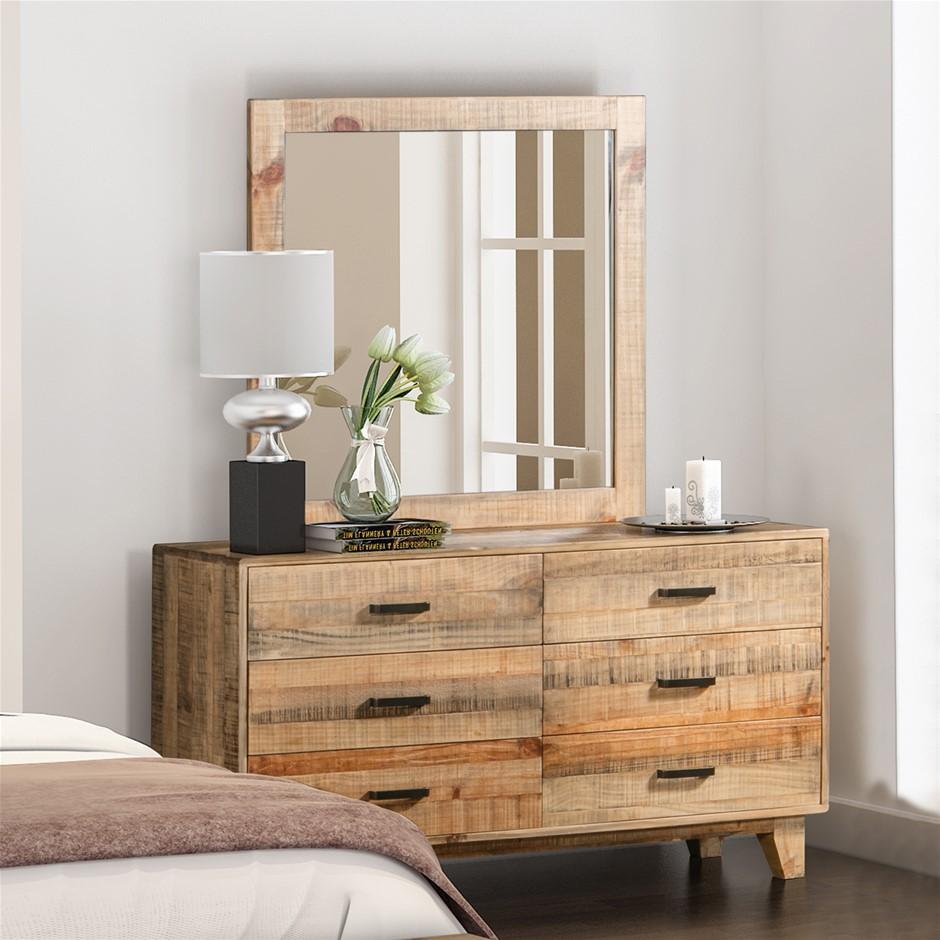 Woodstyle Dresser 6 Draw