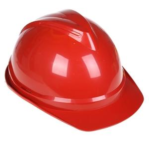 6 x MSA V-Gard Hard Hats, Red with Sweatband & 6-Point Head