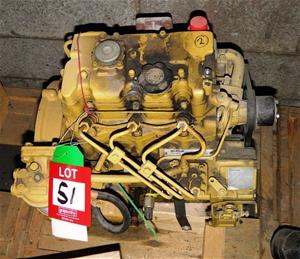 Cat Perkins 3 Cylinder Diesel Engine Auction 0051