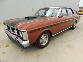 Unreserved 1970 Ford Falcon XY GT Replica RWD Automatic Sedan
