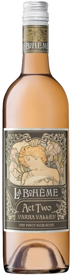 De Bortoli La Boheme Act 2 Rose 2018 (6 x 750mL) Yarra Valley, VIC
