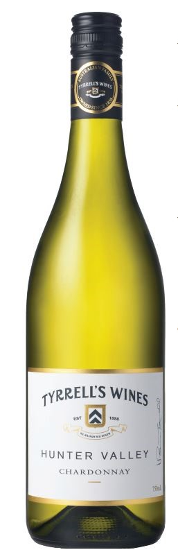 Tyrrell's `Hunter Valley` Chardonnay 2017 (6 x 750mL) Hunter Valley, NSW