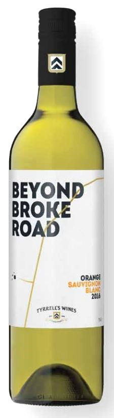 Tyrrell's `Beyond Broke Road` Sauvignon Blanc 2018 (6 x 750mL) Orange, NSW