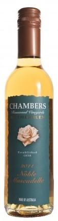 Chambers Noble Muscadelle 2011 (12 x 375mL), Rutherglen, VIC.