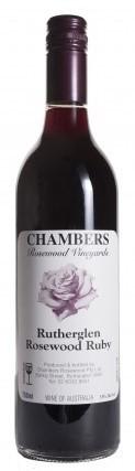 Chambers Rosewood Ruby NV (12 x 750mL), Rutherglen. VIC.