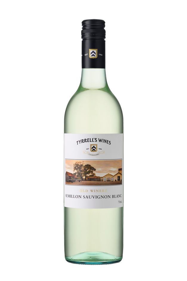 Tyrrell's `Old Winery` Semillon Sauvignon Blanc 2018 (6 x 750mL) SEA