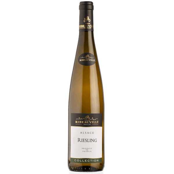 Cave de Ribeauville Riesling 2015 (12 x 750mL), Alsace, France.