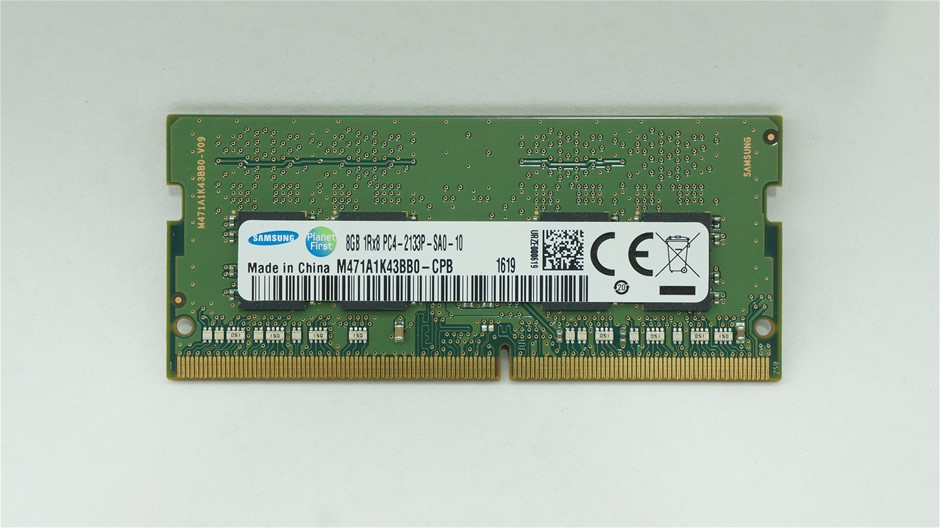 Samsung 8GB DDR4-2133 SO-DIMM Double-Sided 8-Chip Memory Module