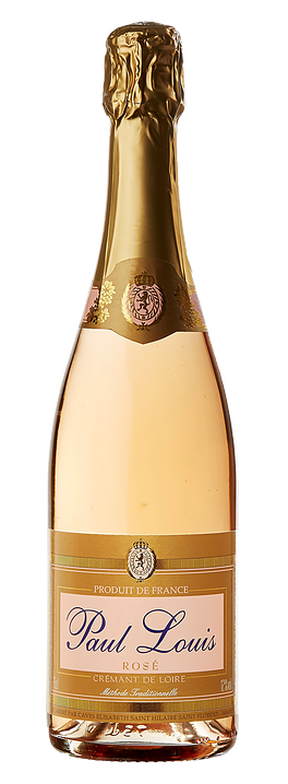 Paul Louis Rose Cremant de Loire Brut NV (12 x 750mL), France.