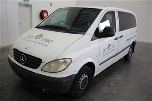 420c1aedb6133e Mercedes Benz Vito 115CDI Compact Turbo Diesel Automatic Van Auction ...