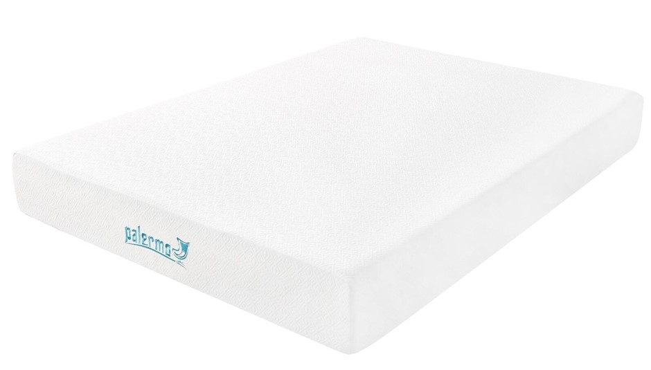 Palermo Queen 25cm Gel Memory Foam Mattress - Dual-Layered