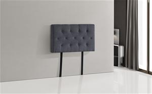 Linen Fabric Single Bed Deluxe Headboard